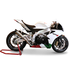 HP CORSE EVOXTREME High Mount Racing Slip-on Exhaust For Aprilla RSV4 (2009-2014)