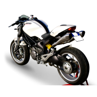 HP CORSE Hydroform Slip-ons For the Ducati Monster 1100 / 796 / 696