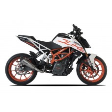 HP CORSE EVOXTREME and GP07 Slip Ons and link pipes For KTM Duke 390
