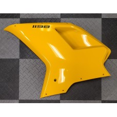 Used - Ducati Yellow Left Side OEM Fairing for Ducati 1198