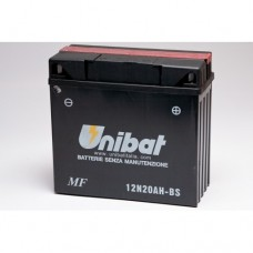 Unibat 12N20AH-BS Battery with 3 yr Warranty