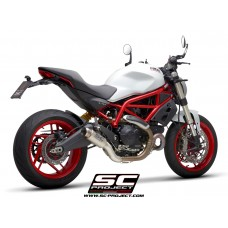 SC-Project GP70-R Titanium Slip-on Exhaust for the Ducati Monster 797
