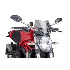 PUIG New Generation Sport Windscreen for Ducati Monster 1200 / S / R