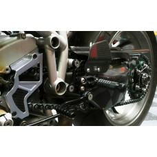 CNC Racing Front Sprocket Cover for Ducati With Carbon Inlay
