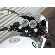 ABM multiClip SPORT Clip-ons and Upper Triple Clamp for the BMW R nineT Racer