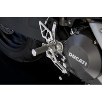 AELLA Riding Step Kit (Rearsets) for the Ducati Monster 1100 / 796