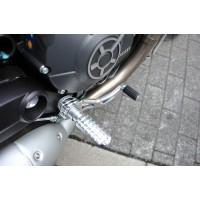 AELLA Riding Step Kit (Rearsets) for the Ducati Scrambler - Fixed Type