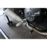 AELLA Riding Step Kit (Rearsets) for the Ducati Scrambler
