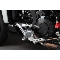 AELLA Riding Step Kit for the Ducati XDiavel (not Rearsets but in this strange case - Forward Controls)