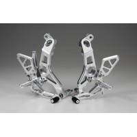 AELLA Riding Step Kit (Rearsets) for the Ducati 939 Supersport / S - Polished
