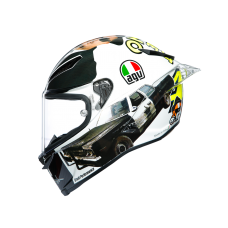 AGV PISTA GP R LIMITED EDITION ROSSI MISANO 2016 BLUES BROTHER HELMET