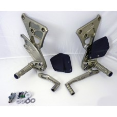 Gilles Tooling AS31GT Rearsets for the Buell XB9RS (2002-2010)  XB9SX (2006-2010)  XBR12RS (2003-2010)  and XBR12SX (2006-2010) - CLOSEOUT