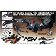 ASV Inventions C5 Series Unbreakable Billet Brake Lever for Brembo & Magura Radial Masters