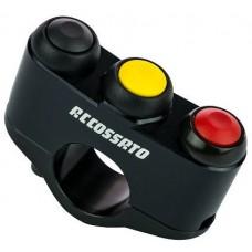 Accossato 5-Key Button Panel