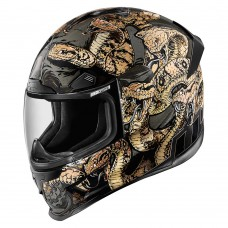ICON AIRFRAME PRO COTTONMOUTH - GOLD - MEDIUM ONLY