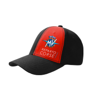MV Agusta Reparto Corse Official Team Wear - 6 panel Flex Fit Ball cap