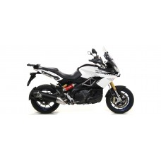 Arrow Exhaust for the Aprilia Caponord 1200 - Travel Pack 2013/2017
