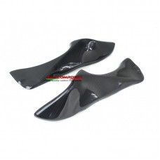 AviaCompositi Carbon Fiber Duct Cover set - NO Indicator openings for Ducati 998 / 996 / 916 / 748