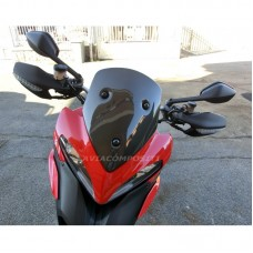 AviaCompositi Carbon Fiber Windscreen Type 1 for Ducati Multistrada 1200 (2010-2012) - DAMAGED