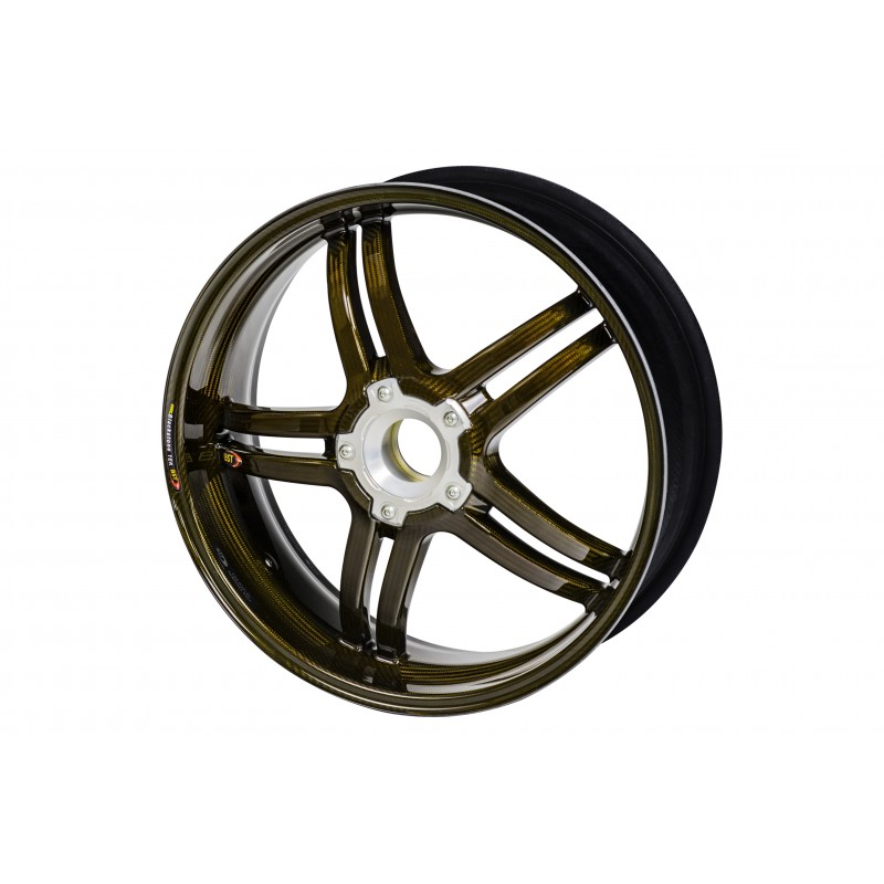 Bst Rapid Tek 5 Split Spoke Carbon Fiber Front Wheel For The Ducati