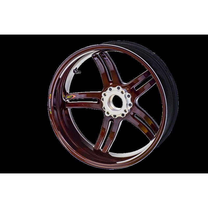 bst rapid tek 5 splitspoke carbon fiber front wheel for