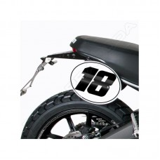 Barracuda Chain Cover for the Ducati Scrambler (2015 - 2017)