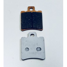 Beringer Sintered Brake Pads for Aerotec 2D1 and Older Axial Mount 6 Piston calipers