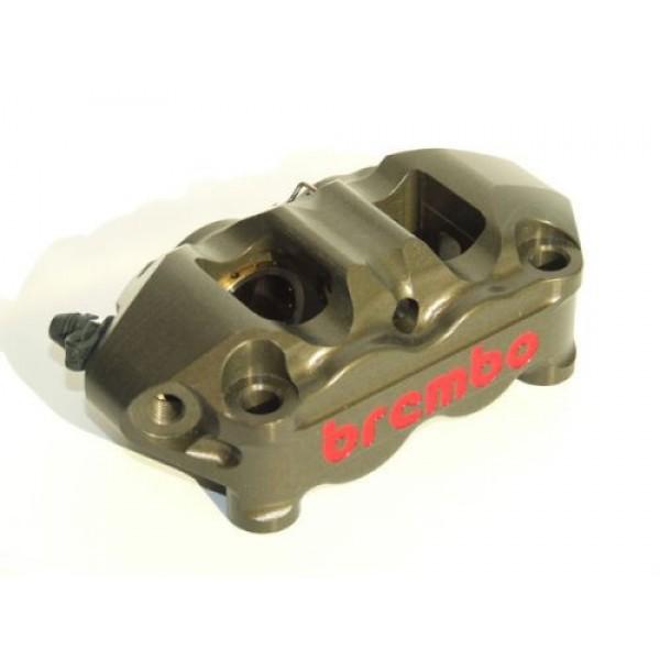 Brembo 100mm CNC Monobloc Race Calipers (Hard Anodized)