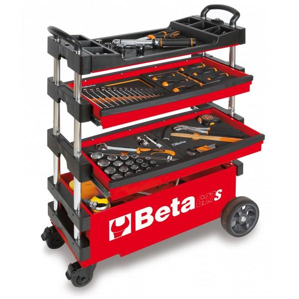 Beta Tools Model C27S Folding Tool Trolley