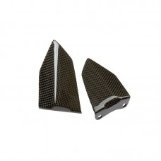 Carbon4us Carbon Fiber Driver Heel Guards for Ducati 999 / 749
