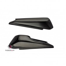 Carbon4us Carbon Fiber Side Seat Covers for Ducati Monster (>2008) - Monster 900 / 750 / 600 Style