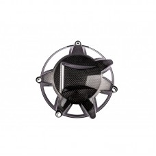 Carbon4us Carbon Fiber Classic Desmo Style Vented Dry Clutch Cover for Ducati