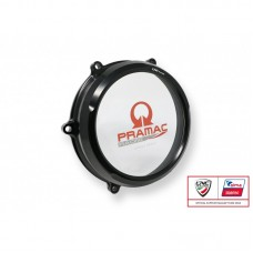 CNC Racing PRAMAC RACING LIMITED EDITION Clear Wet Clutch Cover for the Ducati Panigale / Streetfighter V4 / S / Speciale