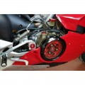 CNC Racing Clear Wet Clutch Cover for the Ducati Panigale V4