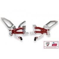 CNC Racing PRAMAC RACING LIMITED EDITION RPS EASY Adjustable Rearset for the Ducati Panigale V4 / S / Speciale