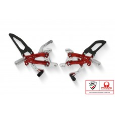 CNC Racing PRAMAC RACING LIMITED EDITION RPS Adjustable Rearset for the Ducati Panigale V4 R