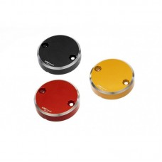 "CNC Racing ""Bi-Color"" Billet Front/Rear Brake Resevoir Cap for Aprilia, Ducati, KTM and MV Agusta"