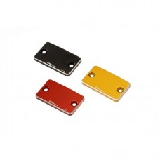 "CNC Racing ""Bi-Color"" Billet Clutch/Front Brake Resevoir Cap"