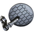 CRG EXO Hindsight LS (Lanesplitter) Folding 3 inch Round Bar End mirror
