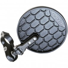 CRG EXO Hindsight LS (Lanesplitter) Folding 3 inch Round Bar End mirror