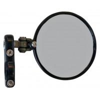CRG Hindsight LS (Lanesplitter) Folding 3 inch Round Bar End mirror