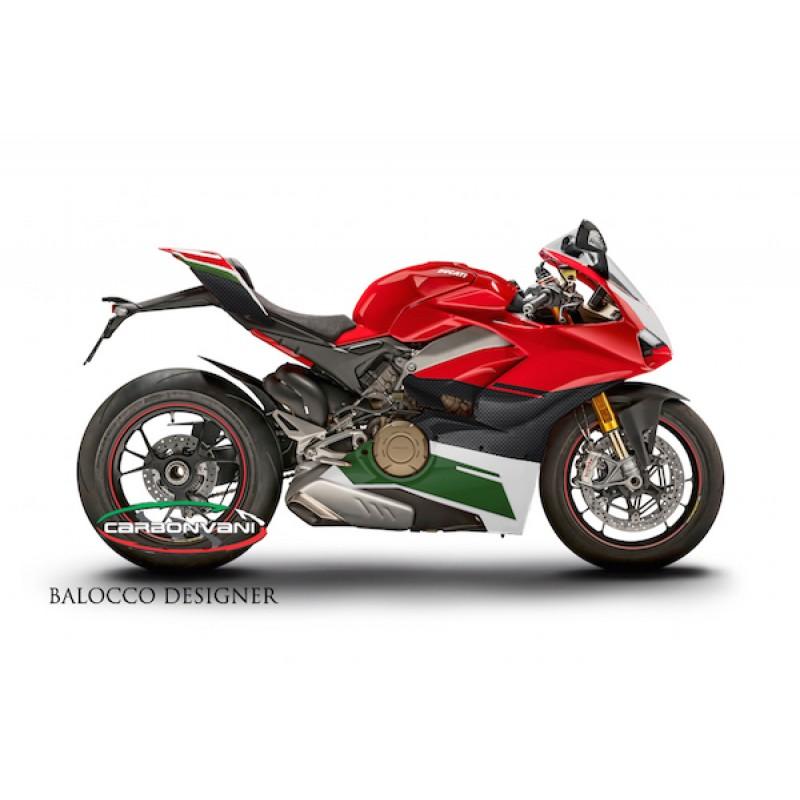 Carbonvani Ducati Panigale V4 S Speciale Tricolore Design