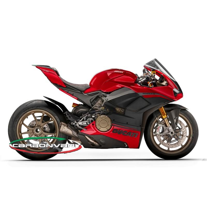 Carbonvani Ducati Panigale V4 S Speciale Red Design Carbon