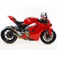Competition Werkes GP RACE Slip-On Exhaust for the Ducati Panigale V4 / S