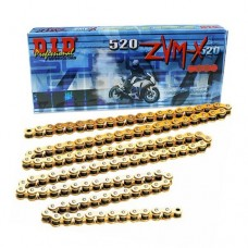 DID Professional 520 ZVMX Super-Street X-Ring Motorcycle Chain - Gold