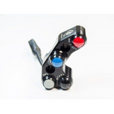 Ducabike 4 button Billet Run / Stop / Start Switch for Panigale V4 R for Brembo OE, RCS, and Performance Technology Master Cylinders