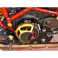 DUCABIKE Billet Vented Clutch Side Engine Case Cover for Dry Clutch Ducati