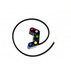 Ducabike 7 Button Handlebar Street Switch (Small White Plug)