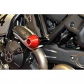 Ducabike Billet Frame slider kit for Ducati Scrambler and Monster 797 - Round slider