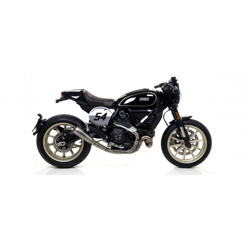 Arrow Exhausts For The Ducati Scrambler Cafe Racer 2017/2018